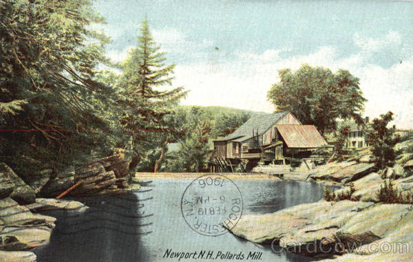 Pollards Mill Newport New Hampshire