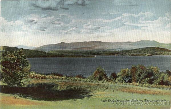 Lake Winnepesaukee From The Winnepesaukee Winnecoette New Hampshire