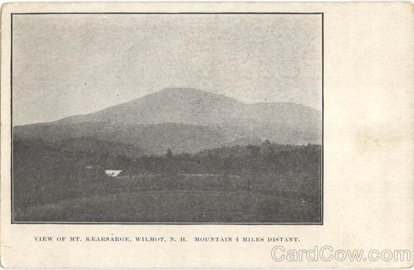 View Of Mt. Kearsarge Wilmot New Hampshire