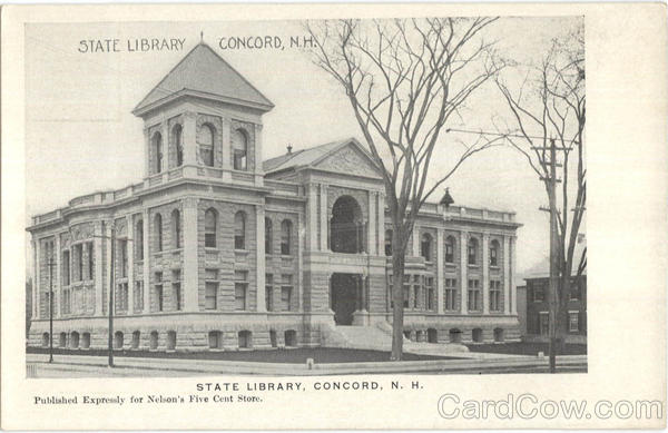 State Library Concord New Hampshire