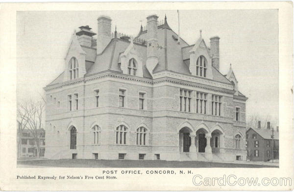 Post Office Concord New Hampshire