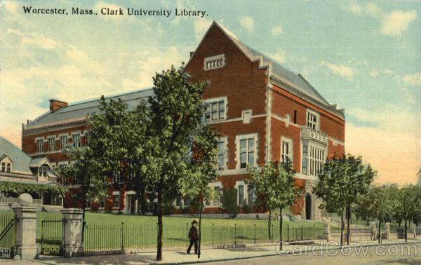 Clark University Library Worcester Massachusetts
