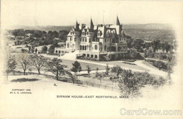 Birnam House East Northfield Massachusetts