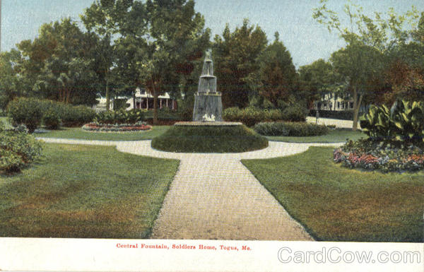 Central Fountain Soldiers Home Togus Maine