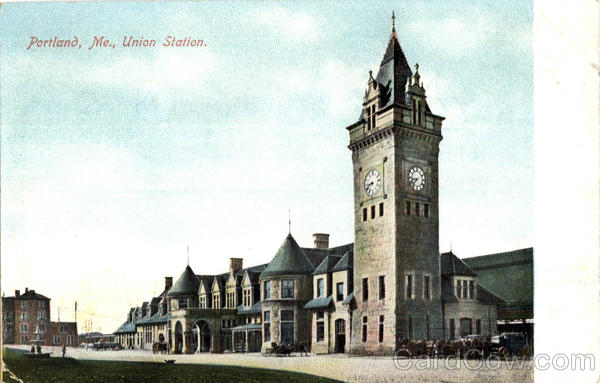 Union Station Portland Maine
