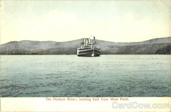 The Hudson River Steamers