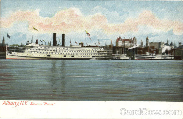 Steamer Morse Albany New York
