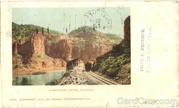 Grand River Canyon Railroad (Scenic)