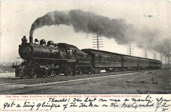 The New York Central's Empire State Express Trains, Railroad