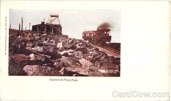 Summit Of Pikes Peak Trains, Railroad