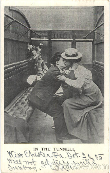 In The Tunnell Trains, Railroad Romance & Love