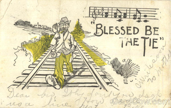 Blessed Be The Tie Trains, Railroad Hobos