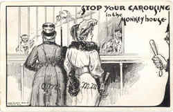 Stop Your Carousing In The Monkey House