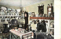 Interior Of Old Curiosity Shop Kent House Postcard