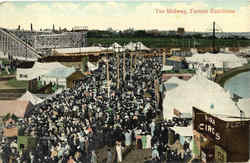 The Midway Postcard