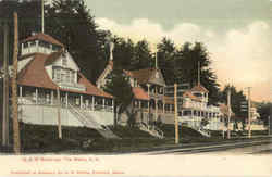 G. A. R. Buildings Weirs Beach, NH