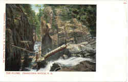 The Flume Franconia Notch