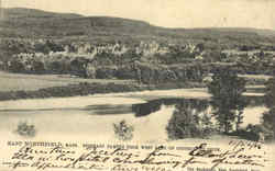 Seminary Campus From West Bank Of Connecticut River Postcard