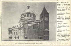 The First Church Of Christ Scientist