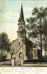 St. Mary's R. C. Church Postcard