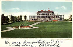 Casino And Grounds At Cape Cottage Postcard