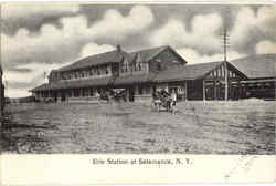 Erie Station At Salamanca