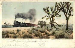 The California Limited On The Desert