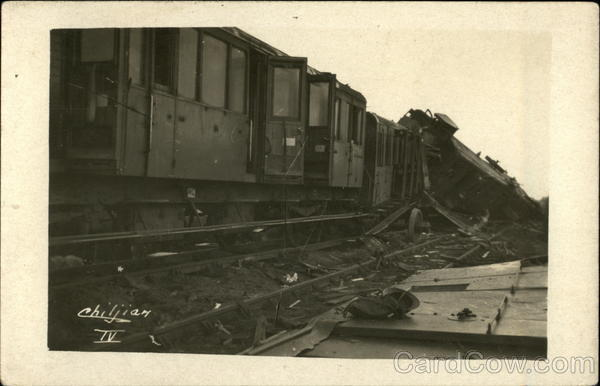 Photo of Train Wreck Disasters