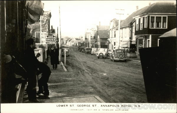 Lower Street, George Street Annapolis Royal Canada