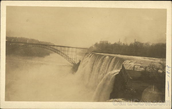 Niagara Falls, 1919 New York