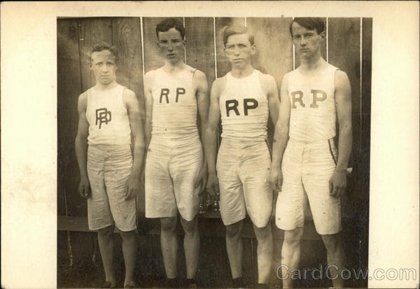 Four Athletes for R.P. Men