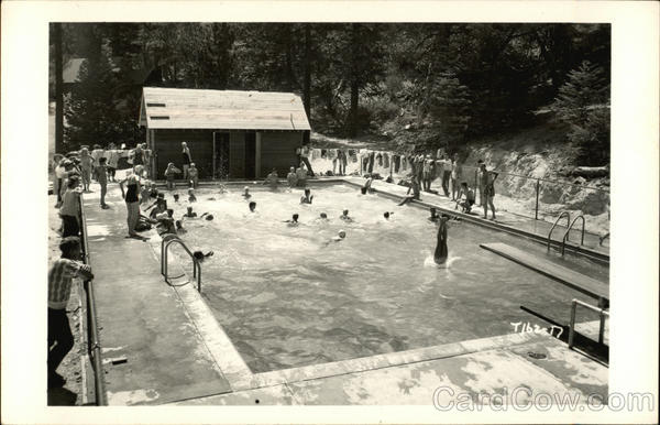Cedar Crest Camp, 1950 California