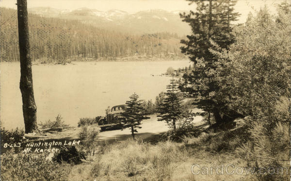 Huntington Lake Lakeshore California Loren D. Martin