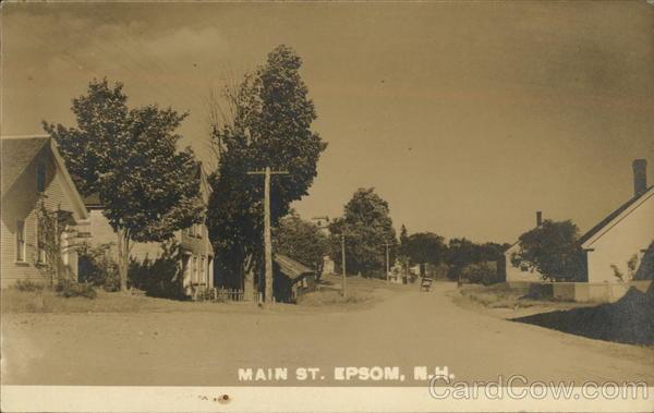 Main Street Epsom New Hampshire