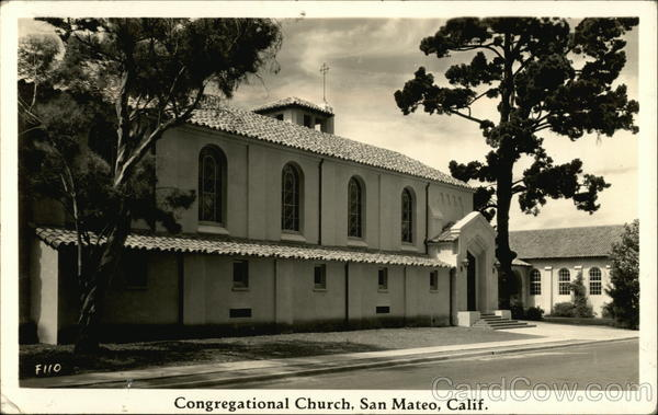 Congregational Church San Mateo California