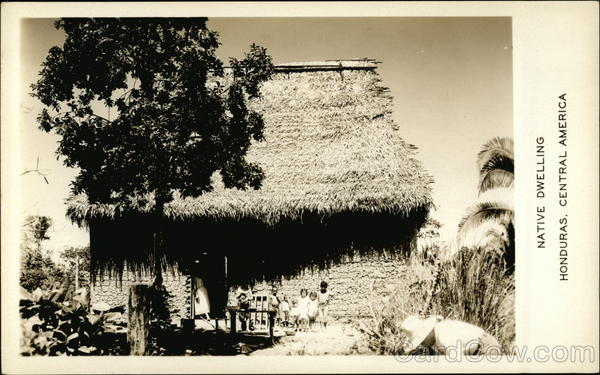 Native Dwelling, Honduras, Central America