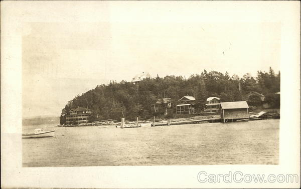 View of Homes on Lake New Hampshire