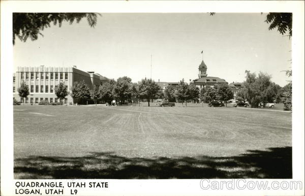 Quadrangle Utah State Logan
