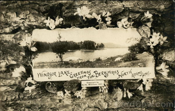 Windsor Lake, Greetings from the Berkshires North Adams Massachusetts