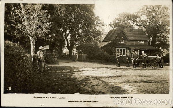 Entrance to Gillwell Park Chingford England Boy Scouts