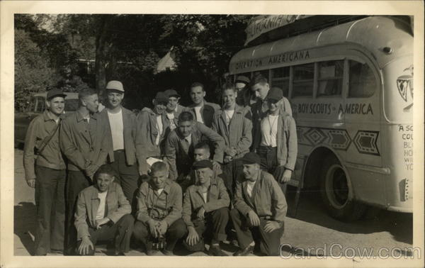 Boy Scouts By Bus - Operation Americana Buses