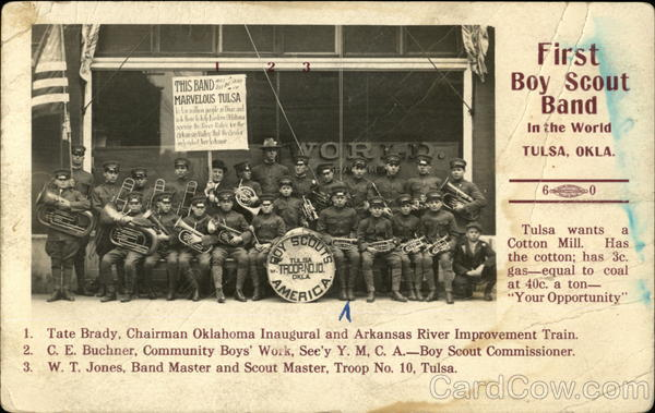 First Boy Scout Band Tulsa Oklahoma