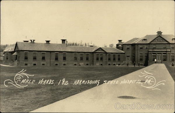 Male Wards 1 & 2 Harrisburg State Hospital Pennsylvania