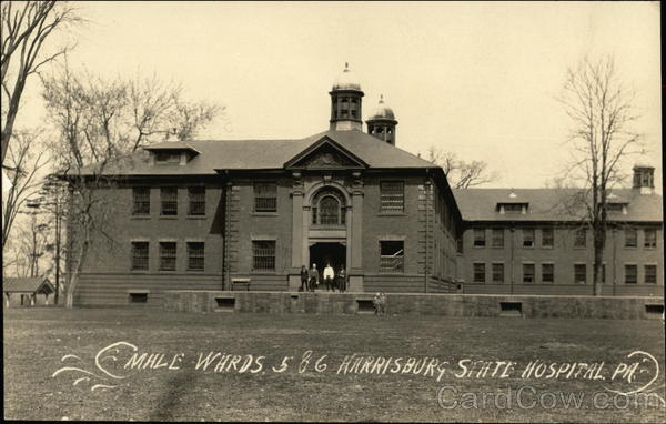 Male Wards 5 & 6 Harrisburg State Hospital Pennsylvania
