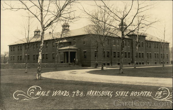 Male Wards, 7 & 8. Harrisburg State Hospital Pennsylvania