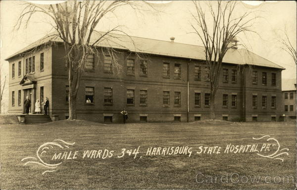 Male Wards 3 & 4, Harrisburg State Hospital Pennsylvania