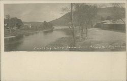 Looking East from Long Bridge Postcard