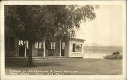 Refreshment & Dance Pavilion, Tioga Lodge, Mono Lake