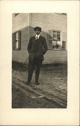 Photo of Man Outside Building