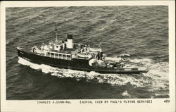 "Aerial View of ""Charles A. Dunning"""